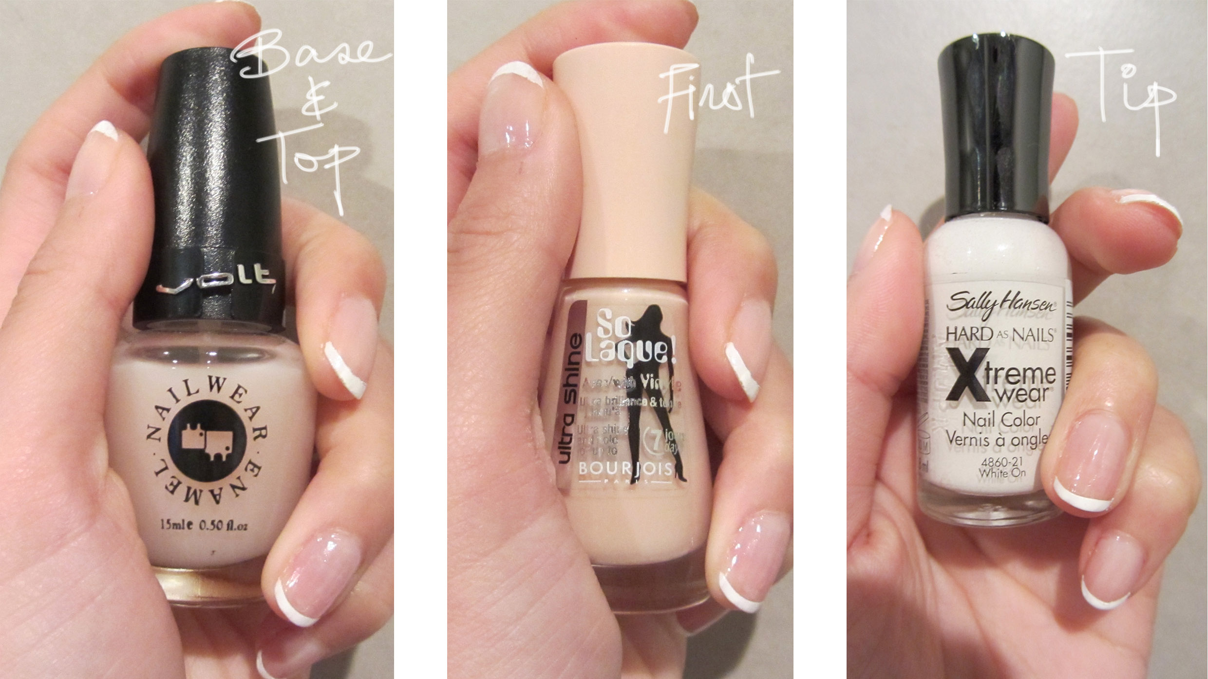 DIY: French Tip with Sticky Tape – Little Bennet