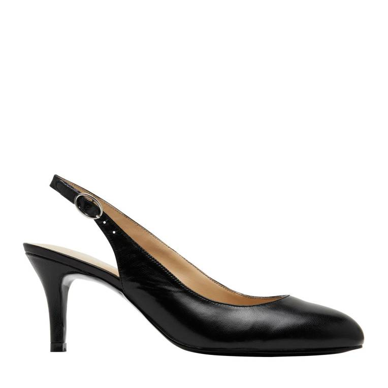 black slingback work shoes