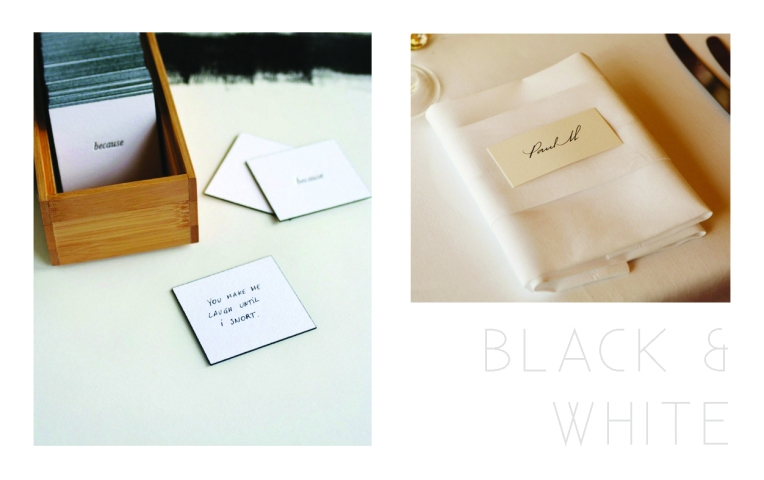 Invitation - Black & White