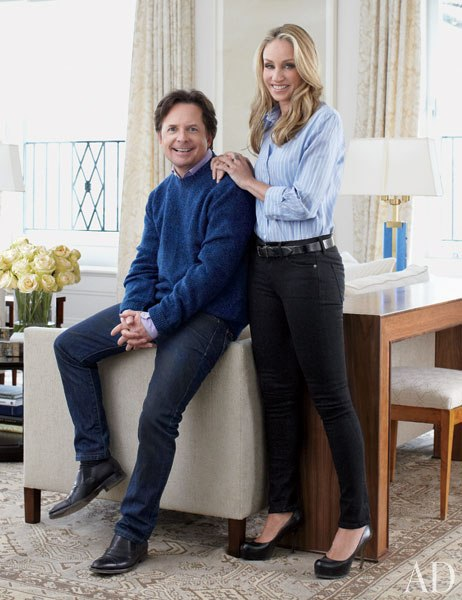 Michael J Fox Celebrity Home Interior Decoration 01