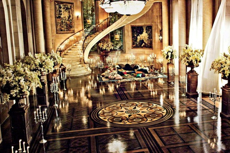 the great gatsby film set