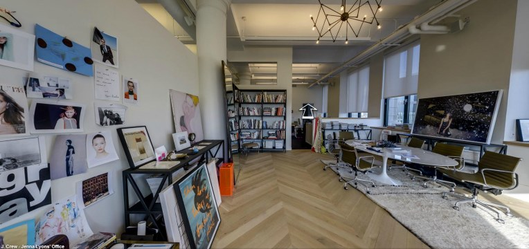 Jenna Lyons's office