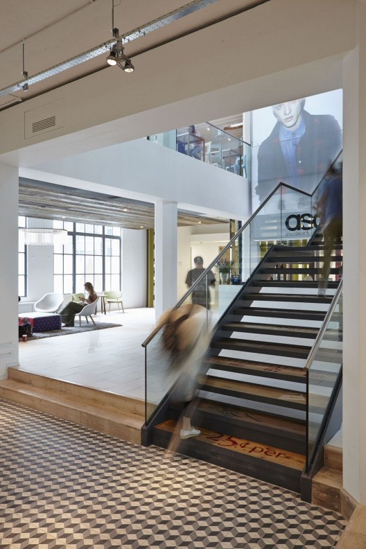 asos office stairs