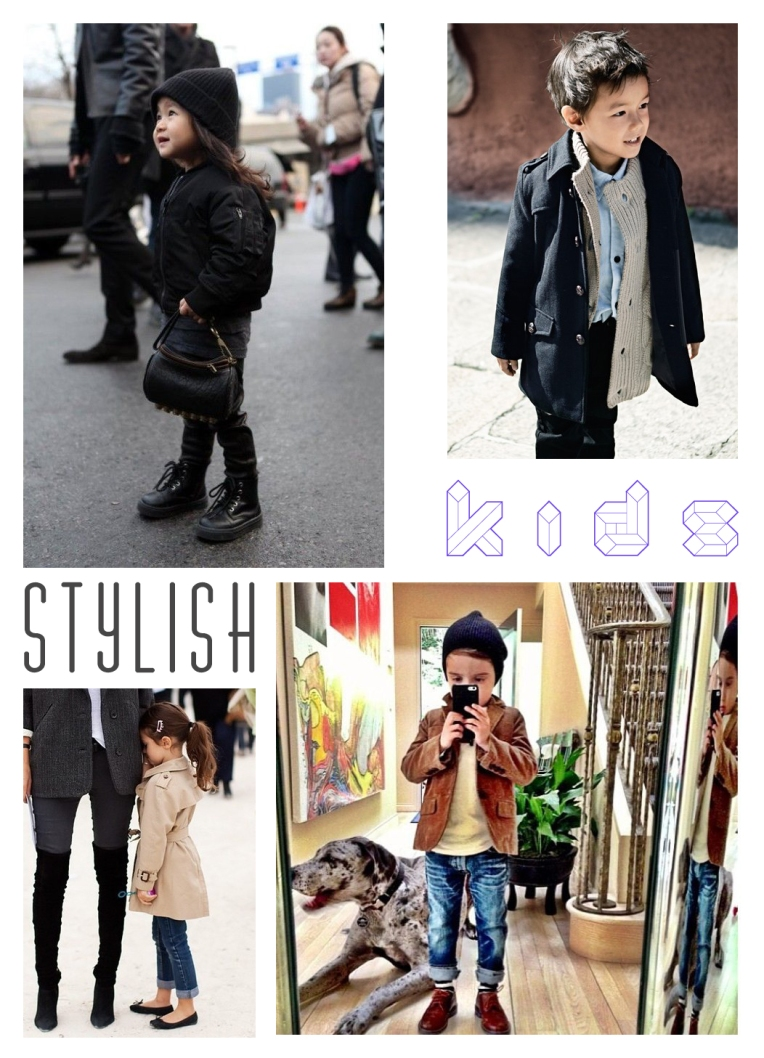 kids with styles