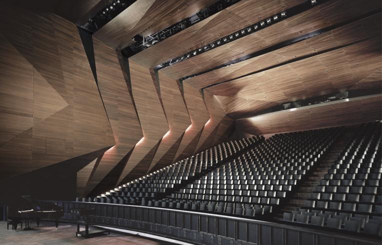 modern concert halls