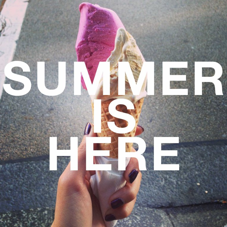 SUMMER IS HERE award winning ice cream