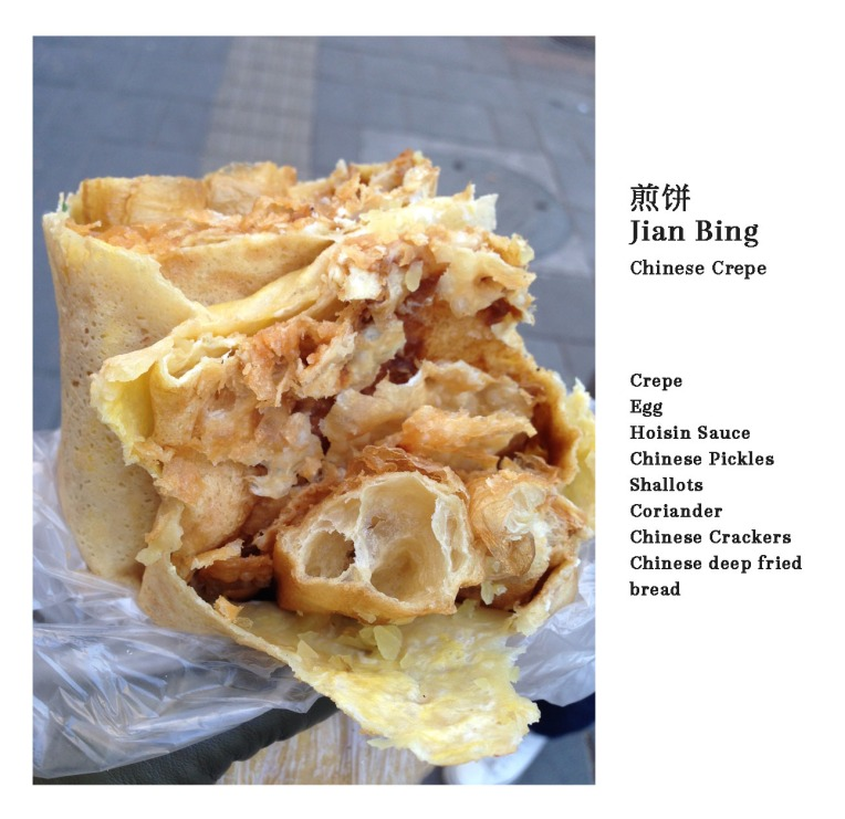 Chinese Crepe Jian Bing
