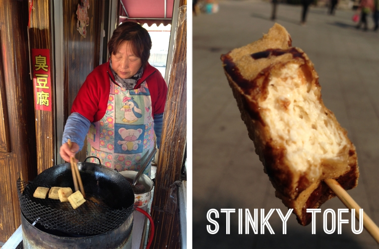stinky tofu food in china street food
