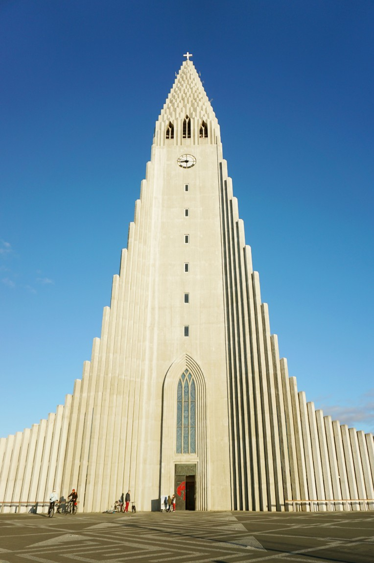 Church in Iceland Reykjavik